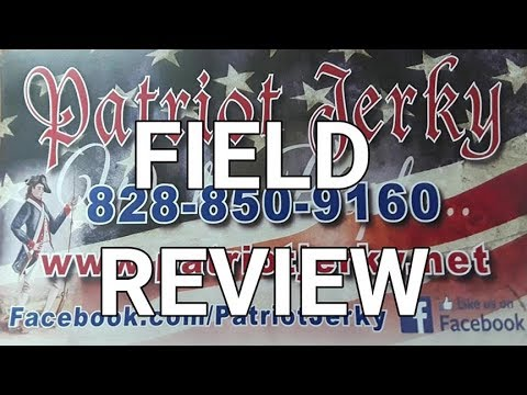 Patriot Jerky Review on the James River