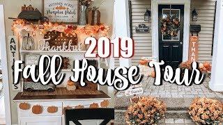 FALL HOME DECOR TOUR 2019   FARMHOUSE FALL DECOR 2019