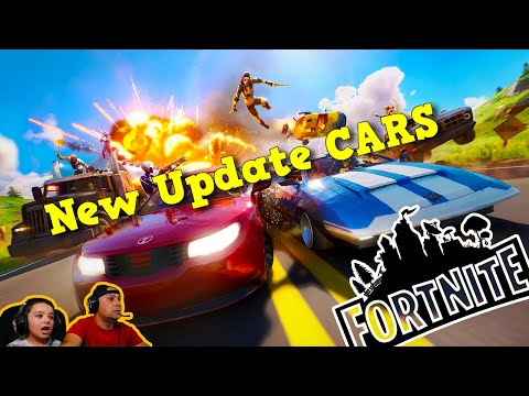 Fortnite NEW update Cars