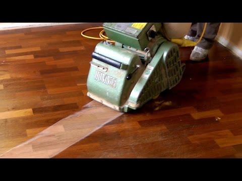 Sanding and Refinishing Hardwood Floors (step by step)