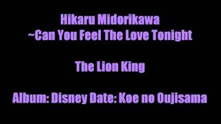 Hikaru Midorikawa ~ Can You Feel The Love Tonight