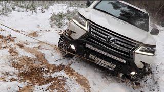 Lexus LX 570 ЗАВЕЛИ! БЕЗ ОБКАТКИ СРАЗУ НА OFFROAD!