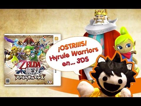 [Noticia] ¡Koei Tecmo filtra por error Hyrule Warriors para 3DS! - EspalTino nos enseña el tráiler