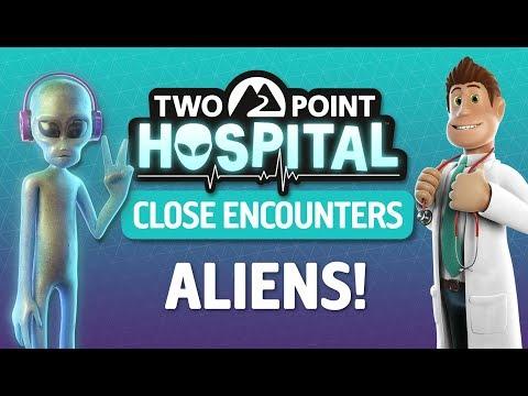 Свежее дополнение для Two Point Hospital пройдётся по теме сопротивления инопланетянам