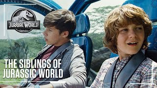 Family Finds a Way | The Siblings of Jurassic World