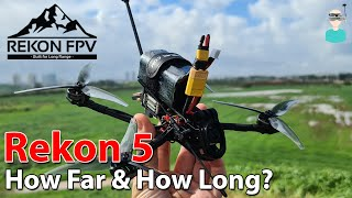 Rekon 5 Mini Long Range Quad - How Long & How Far Does It Fly?