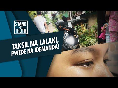 [GMA]  Stand for Truth: Lalaking nangangaliwa, puwede nang idemanda!