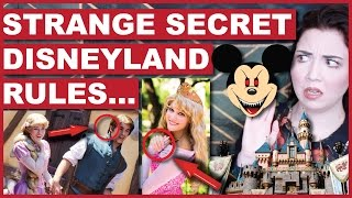 Strange SECRET Rules Disneyland Employees Must Follow