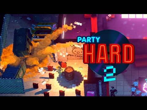 Party Hard 2 Announcement Trailer thumbnail