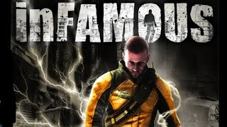 Infamous Full Movie All Cutscenes