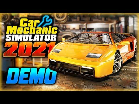 Car Mechanic Simulator 2021 #1 🚗 - СИМУЛЯТОР АВТОМЕХАНИКА. Первый Ремонт - Демо-Версия (2021)