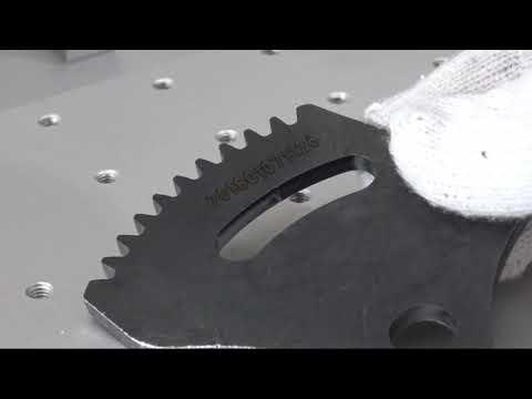 Grawer stal węglowa Weni Marker Fibrowy Seria RH | Marking Carbon Steel Weni Fiber marker RT Series - zdjęcie