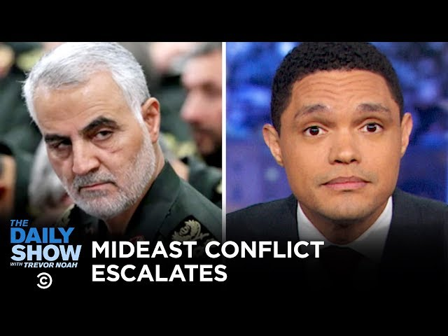 Trump Brings U.S. to the Brink of War with Iran   The Daily Show