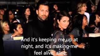 Flames - Cider Sky Lyric Video