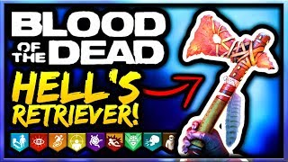 Blood of the Dead How To Get Hell's Retriever Guide/Tutorial! Black Ops 4 Zombies Hell's Retriever