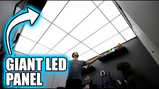 Turning My ENTIRE Ceiling Into A Light Fixture