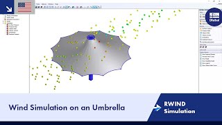 Wind Simulation of Umbrella