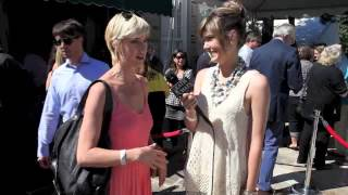 Lauren Lee Smith - Katie chats at CFC BBQ (Cinemanovels)