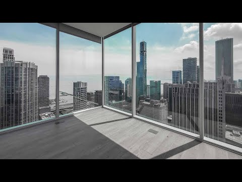An -05 Apex 3-bedroom, 2-bath at Streeterville's Optima Signature apartments
