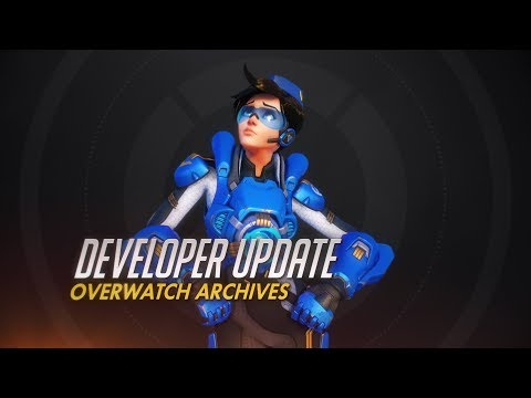 Developer Update Teases a Wednesday Reveal of the Overwatch Archives