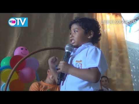 Estudiantes de la Escuela Simón Bolívar inauguran mejoras