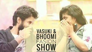 Vasuki & Bhoomi FASION Show   BIGG BOSS KANNADA SEASON 7   VASUKI VAIBHAV    BHOOMISHETTY    SUDEEP