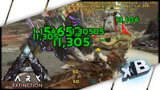 RED DROP! :: Noob Vs ARK: Extinction :: E10