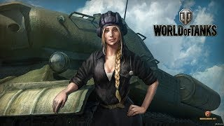 ✅ ДЕВУШКА В ТАНКЕ!!! WELCOME!!!  ✅ ⚠️ WORLD OF TANKS ⚠️