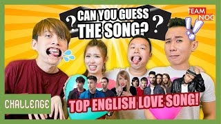 Can You Guess The Song? Top English Love Songs!