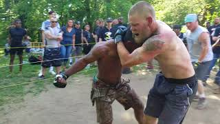 STREETBEEFS MMA MATCH THE WICKED ROOFER VS TAY