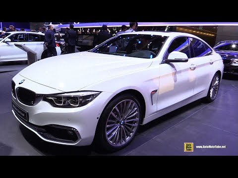 2019 BMW 420i Gran Coupe - Exterior and Interior Walkaround - 2018 Paris Motor Show