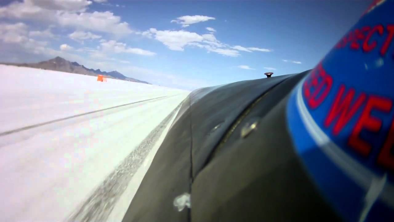 What It's Like To Drive 644km/h