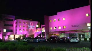 Breast Cancer Awareness Press Event Lighting  Virginia G Piper Center Scottsdale