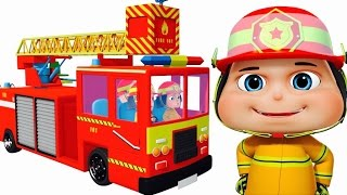 Zool Babies As Fire Fighters - Part 2 | Cartoon Animation For Children | Comedy Series For Kids