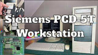 Siemens PCD 5T Pentium 60MHz Workstation