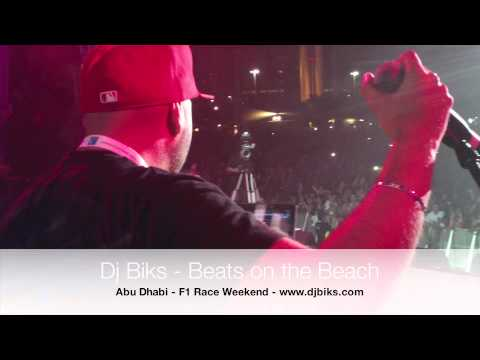 DJ Biks - Beats on the Beach - F1 Weekend, Abu Dhabi