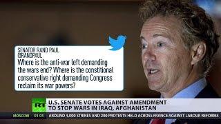 Anti-war amendment killed: