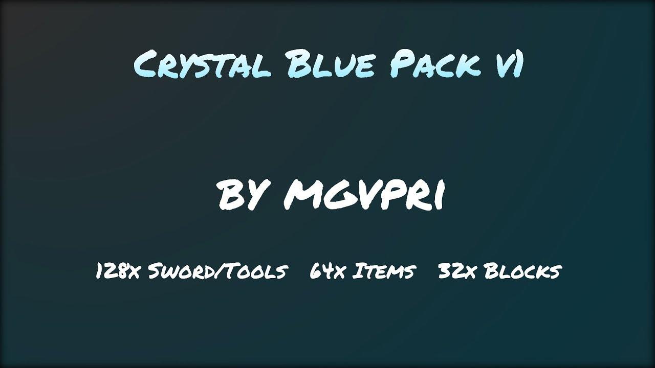 Crystal Blue Pack v1