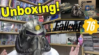 Fallout 76 Power Armor Edition Unboxing - EARLY!!!