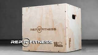 Rep Fitness 3-in-1 Wood Plyo Box Assembly Instructions