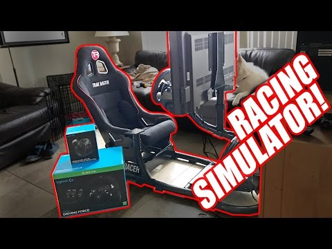 Budget Racing Simulator!?! SO SICK!