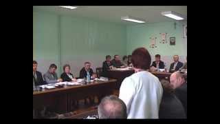 XX sesji Rady Gminy Chorkówka (1)