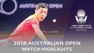 Xu Xin vs Liu Dingshuo | 2018 Australian Open Highlights (Final)