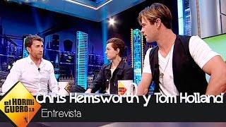 Chris Hemsworth Y Tom Holland En 'El Hormiguero 3.0' - El Hormiguero 3.0