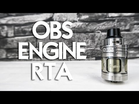 YouTube Video zu OBS Engine RTA Selbstwickelverdampfer 5.2 ml