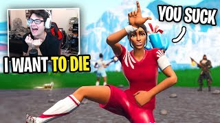 SWEATING To Get My FIRST WIN In Season 8 Fortnite... (bad idea)