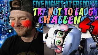 Vapor Reacts #648 | [FNAF SFM] FIVE NIGHTS AT FREDDY'S TRY NOT TO LAUGH CHALLENGE REACTION #41