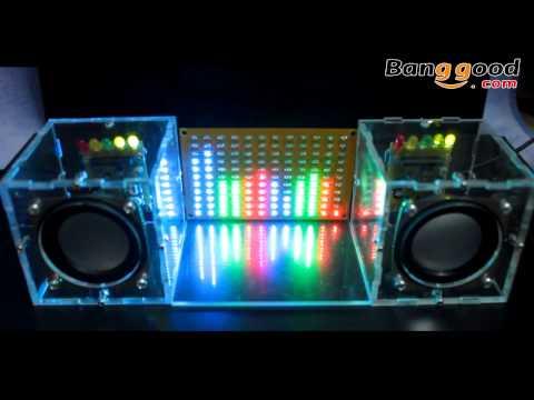 LED Music Spectrum Electronic DIY LED Flash Kit 12*11FFT — Banggood.com
