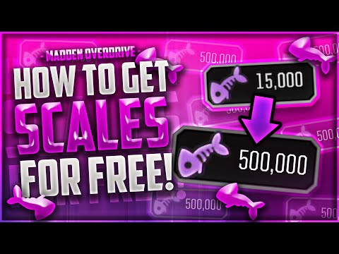 HOW TO GET 1,000,000 SCALES in MOST FEARED! - MADDEN OVERDRIVE GUIDE!