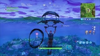 The Fortnite Rocket Launching w/ James and Anthony (but they are inaudible..somehow..)